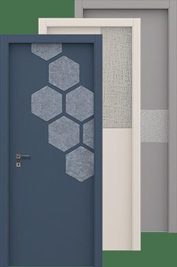 Porte di Design e Porte Moderne con la Linea Fusion