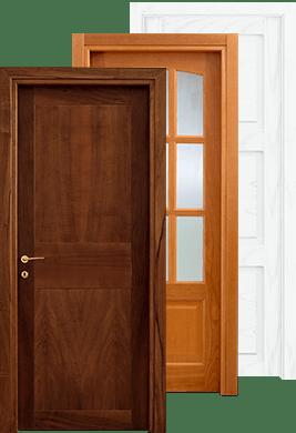 Porte In Legno pieno anche per le Porte Scorrevoli e Porte a Libro